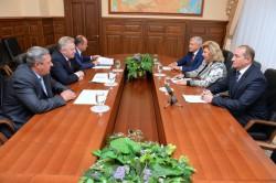 Встреча Татьяны Москальковой с Губернатором Хабаровского края Вячеславом Шпортом
