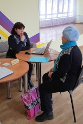 Специалистом аппарата Уполномоченного по правам человека в Хабаровском крае проведен выездной прием граждан