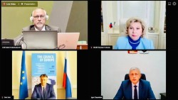 Уполномоченный по правам человека в Хабаровском крае стал участником онлайн-семинара Уполномоченного по правам человека в Российской Федерации и Совета Европы по соблюдению прав человека в условиях эпидемиологического кризиса COVID-19