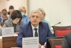 Уполномоченный принял участие в очередном заседании Законодательной Думы Хабаровского края