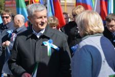 Праздник Весны и Труда состоялся в г. Хабаровске