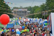В праздничных мероприятиях, посвящённых 85-летию города Комсомольска-на-Амуре, принял участие Уполномоченный по правам человека в Хабаровском крае Игорь Чесницкий