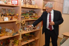 Игорь Чесницкий поздравил воспитанников детского дома с наступающим Новым Годом и Рождеством Христовым