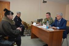 Уполномоченный по правам человека в Хабаровском крае и руководитель краевого следственного управления СК России провели в селе Троицкое совместный приём граждан