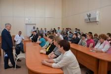 Уполномоченный по правам человека в Хабаровском крае посетил социальные учреждения Эльбанского городского поселения Амурского района