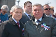 И. Чесницкий принял участие в первомайском шествии