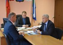 Игорь Чесницкий продолжает рабочие поездки по краю