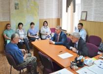 Уполномоченный провел прием граждан в селе Богородское Ульчского района
