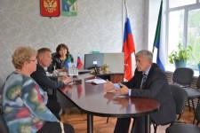 Игорь Чесницкий побывал с рабочим визитом в селе Булава Ульчского района