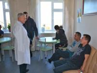 Уполномоченный по правам человека проверил соблюдение прав граждан, проживающих в КГБУ «Хабаровский психоневрологический интернат»