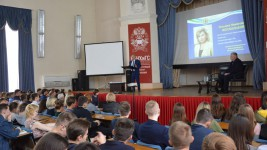 Игорь Чесницкий провел открытую лекцию для студентов Дальневосточного института управления