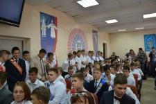 Уполномоченный по правам человека в Хабаровском крае Игорь Чесницкий принял участие в торжественной церемонии вручения аттестатов об основном общем образовании