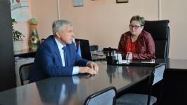 Игорь Чесницкий побывал с рабочим визитом в поселке Высокогорный
