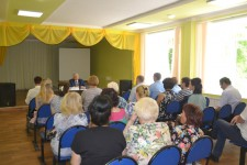 Рабочая поездка уполномоченного по правам человека в Хабаровском крае Игоря Чесницкого в Комсомольский муниципальный район