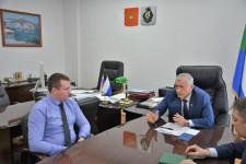 Состоялась рабочая встреча Уполномоченного по правам человека в Хабаровском крае с председателем регионального отделения ВОРДИ