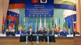 И. Чесницкий принял участие в расширенном заседании коллегии УМВД России по Хабаровскому краю