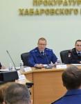 И. Чесницкий принял участие в расширенном заседании коллегии прокуратуры Хабаровского края