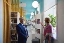Уполномоченный посетил первую в крае модельную библиотеку